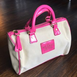 VICTORIA'S SECRET Mini bag in pink and cream
